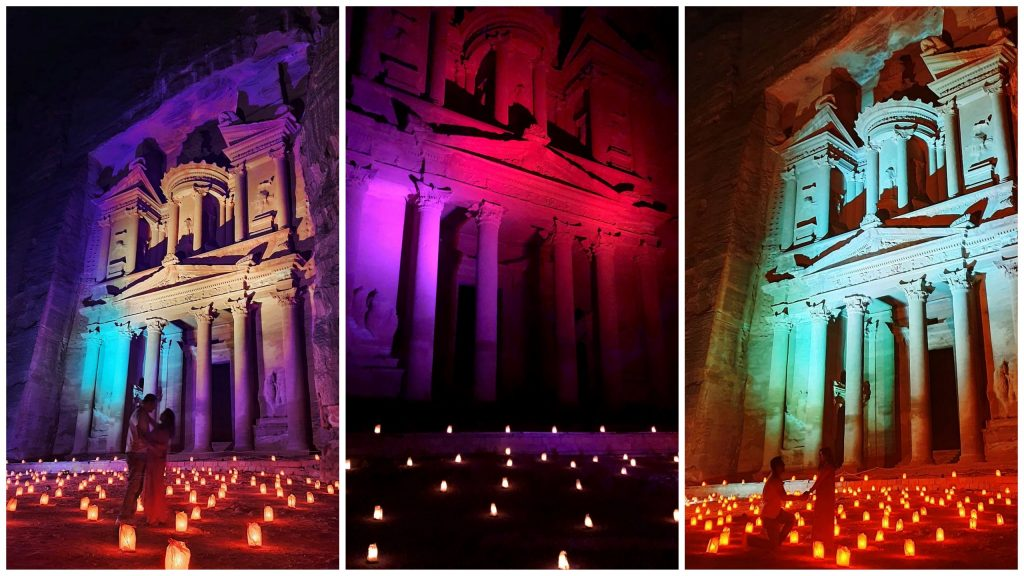 Petra by Night Photo Shoot Ideas