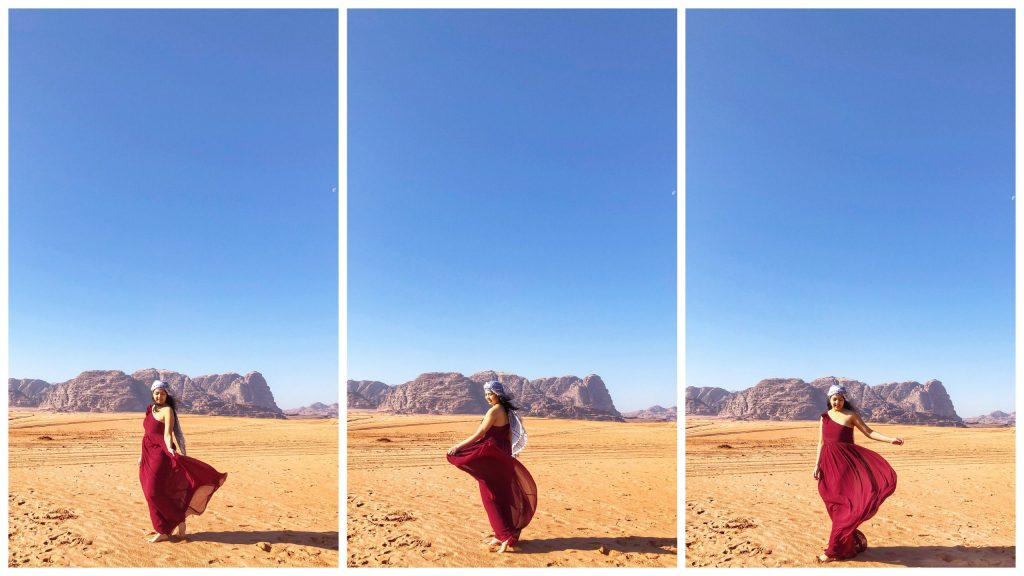 Wadi Rum Photo Shoot - Model