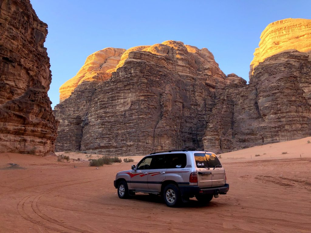 Jordan Road Trip Itinerary - Wadi Rum Sunrise Tour
